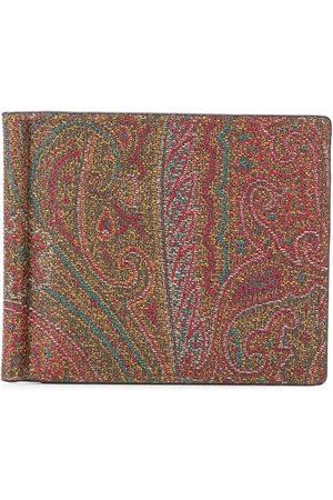 Etro Paisleymönstrad plånbok