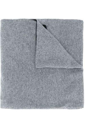 Moschino Intarsiastickad halsduk med logotyp