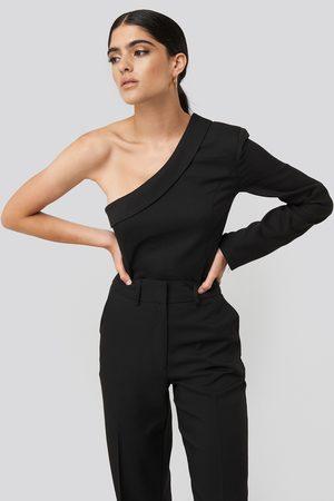 NA-KD Kvinna Skjortor - One Shoulder Shirt
