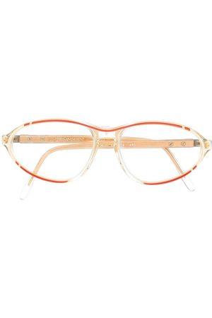 Yves Saint Laurent Kvinna Solglasögon - 1990s oval sunglasses