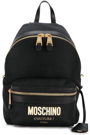 Moschino Ryggsäck med logotypplakett
