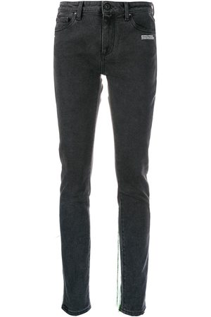OFF-WHITE Thread trim jeans