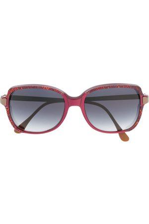 Missoni 1990s oversized gradient sunglasses
