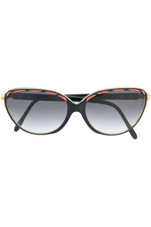 Yves Saint Laurent 1980s round sunglasses