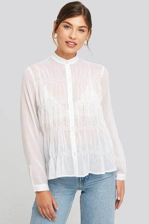 NA-KD Gatherings Detail Chiffon Shirt