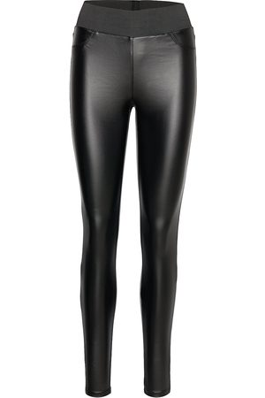 soyaconcept Sc-Pam Leather Leggings/Byxor