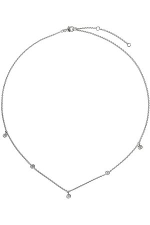 De Beers Kvinna Halsband - My First Aura halsband i 18K vitguld med fem diamanter