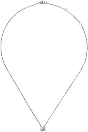 De Beers My First Aura diamanthalsband i 18K vitguld