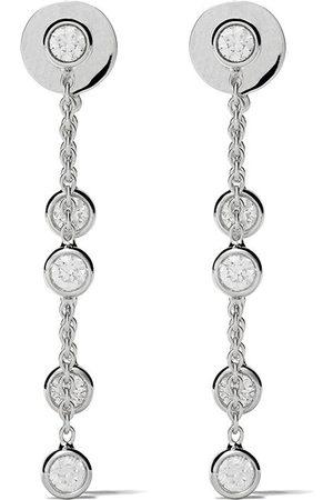 De Beers Kvinna Örhängen - My First örhängen i 18K vitguld med fem diamanter