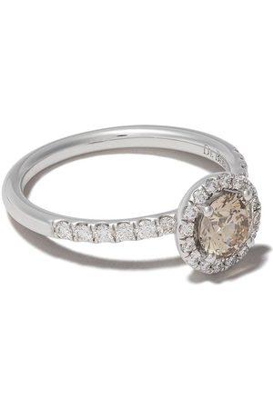 De Beers Kvinna Ringar - Aura diamant i 18K vitguld