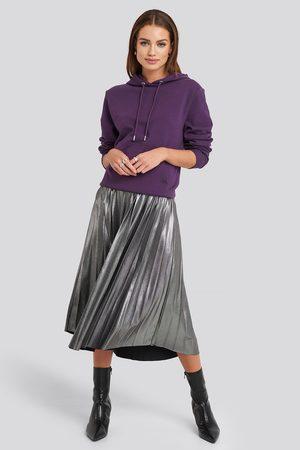 NA-KD Kvinna Midikjolar - Midi Pleated Skirt