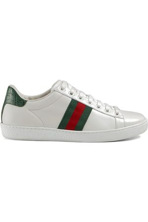 Gucci Ace sneakers i läder