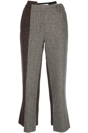 MONSE Deconstructed slim-fit trousers