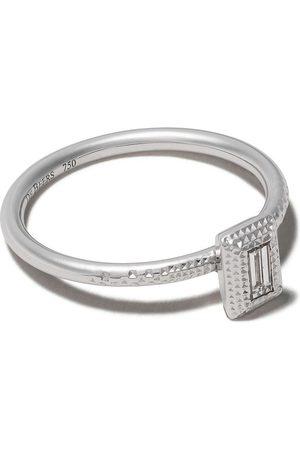 De Beers Kvinna Ringar - Talisman diamantring i 18K vitguld