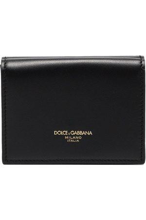 Dolce & Gabbana Black Monreal leather wallet