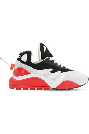 FORWARD Kvinna Sneakers - 50mm Bicolor Nylon & Mesh Sneakers