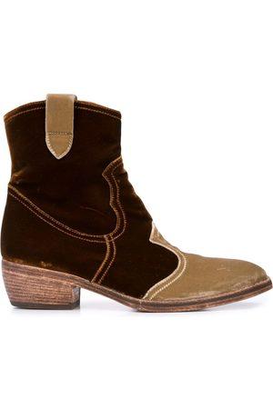 Madison.Maison Kvinna Boots - Stövletter i sammet