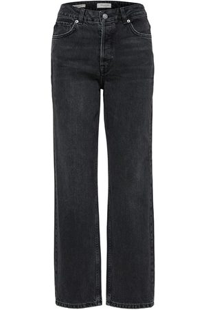 Selected Straight fit jeans High waist