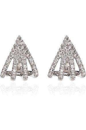 Dana Rebecca Designs Sarah Leah diamantörhängen i 14K vitguld