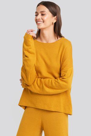 NA-KD Kvinna Myskläder - Lounge Round Neck Sweater