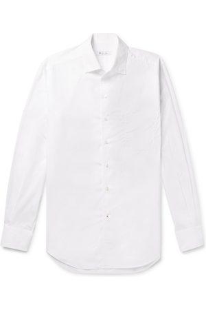 Loro Piana Andre Cotton-poplin Shirt