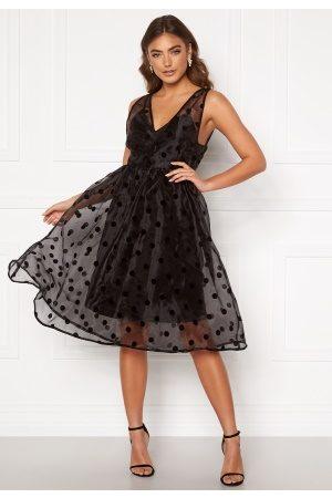 Y.A.S Kvinna Midiklänningar - Olivia Spencer Dress Black S