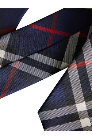 Burberry Vintagerutig slips med modernt snitt