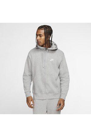 Nike Huvtröja med hel dragkedja Sportswear Club Fleece för män