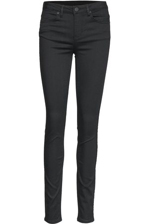 2nd Day Kvinna Skinny - 2nd Jenna Perfect Blacked Skinny Jeans