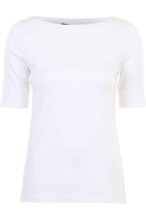 LAUREN RALPH LAUREN Kvinna T-shirts - Judy elbow sleeve knit