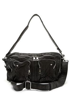Nunoo Kvinna Axelväskor - Alimakka Washed Bag Black One size