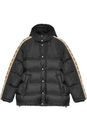 Gucci Man Kappor & Rockar - GG jacquard nylon padded coat