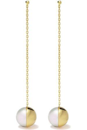 Tasaki Kvinna Örhängen - örhängen i 18K gult guld
