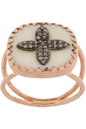 Pascale Monvoisin Kvinna Ringar - BOWIE Nr.2 diamantring i 9K roséguld