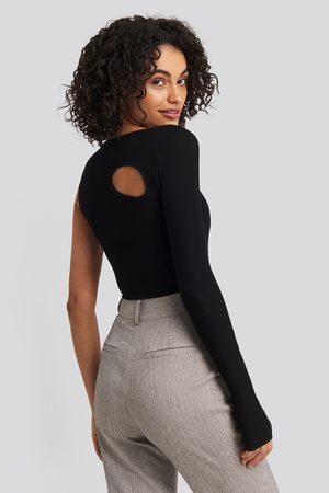 NA-KD Cut Out Asymmetric Bodysuit