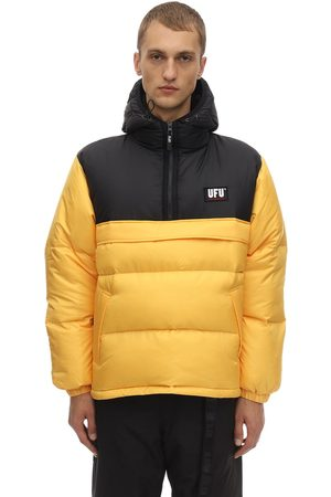 UFU - USED FUTURE Mag Color Block Puffer Jacket
