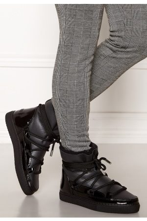 INUIKII Sneaker Gloss Black 41