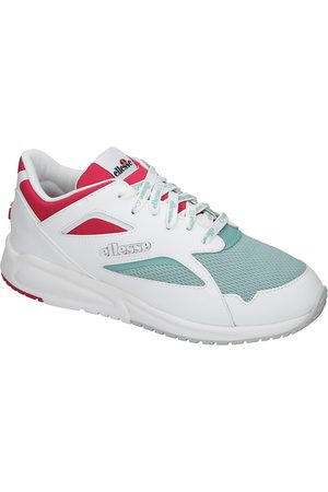 Ellesse Contest Sneakers white/turquoise/pink