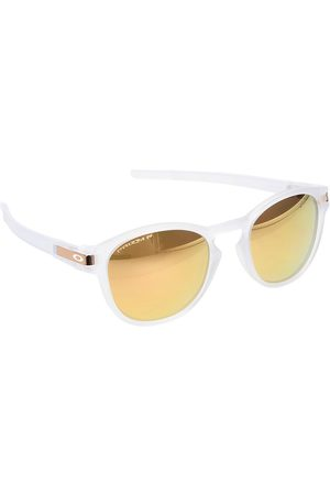 Oakley Latch Matte Clear prizm rose gold polarized