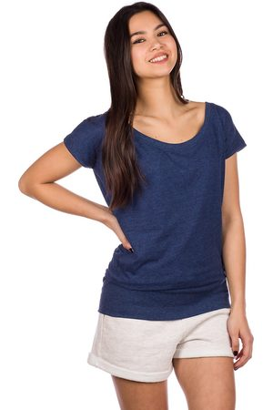 Kazane Hilde T-Shirt navy heather