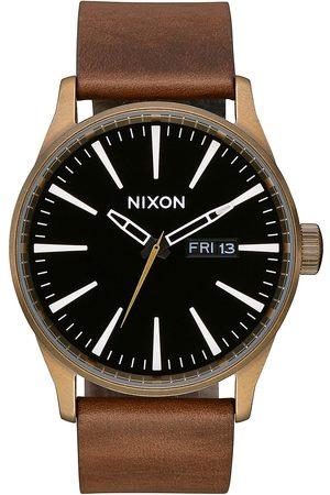 Nixon The Sentry Leather brass/black/brown