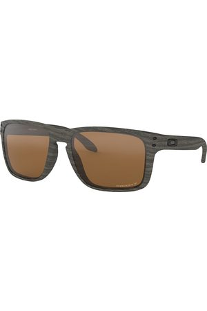 Oakley Holbrook XL Woodgrain prizm tungsten polarized