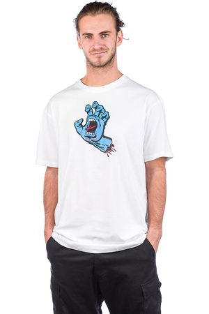 Santa Cruz Screaming Hand T-Shirt white