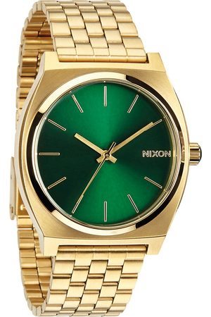 Nixon The Time Teller gold/green sunray