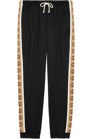 Gucci Loose technical jersey track bottoms
