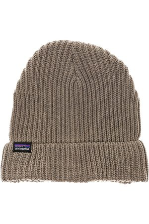 Patagonia Fishermans Rolled Beanie ash tan