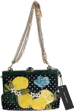 Dolce & Gabbana Vanda Floral Embroidered Crystal Bag