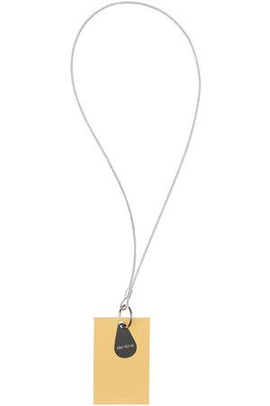 OBS Man Nyckelringar - Logo Leather Keychain