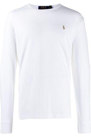 Polo Ralph Lauren Långärmad t-shirt med logotyp