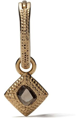 De Beers Talisman diamantörhänge i 18K gult guld